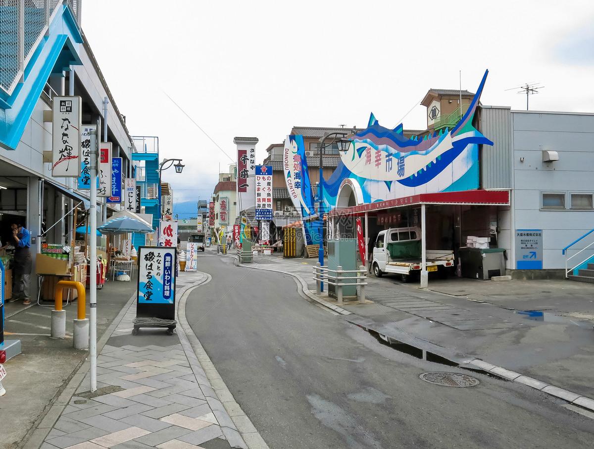 日本海鲜市场