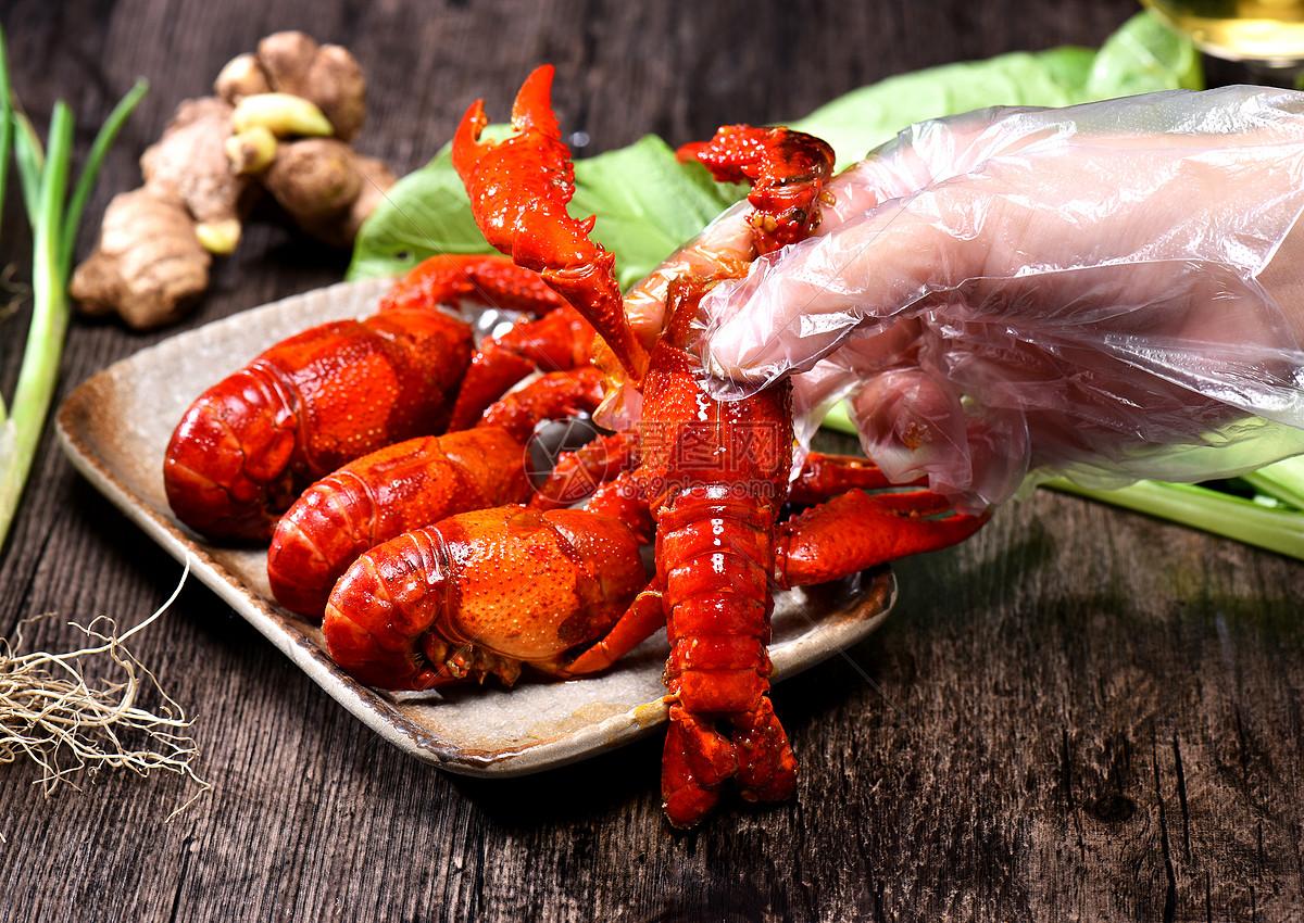 龙虾大虾野生虾海鲜