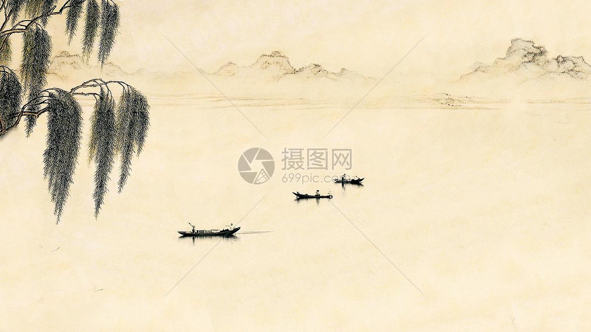 水墨画般的江南水乡图片素材_免费下载_jpg图片格式_vrf高清图片