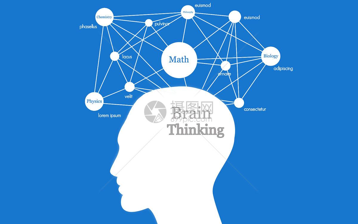 创意合成 教育文化 大脑结构jpg