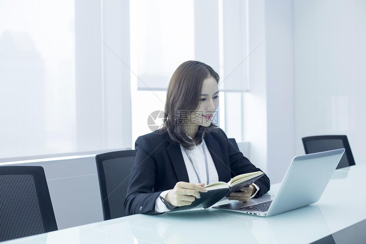 成功女性商务精英