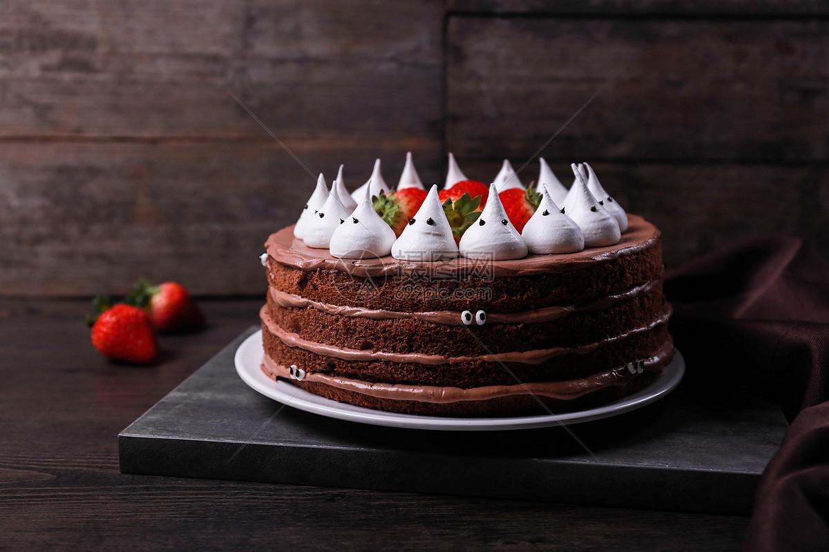 万圣节主题蛋糕图片