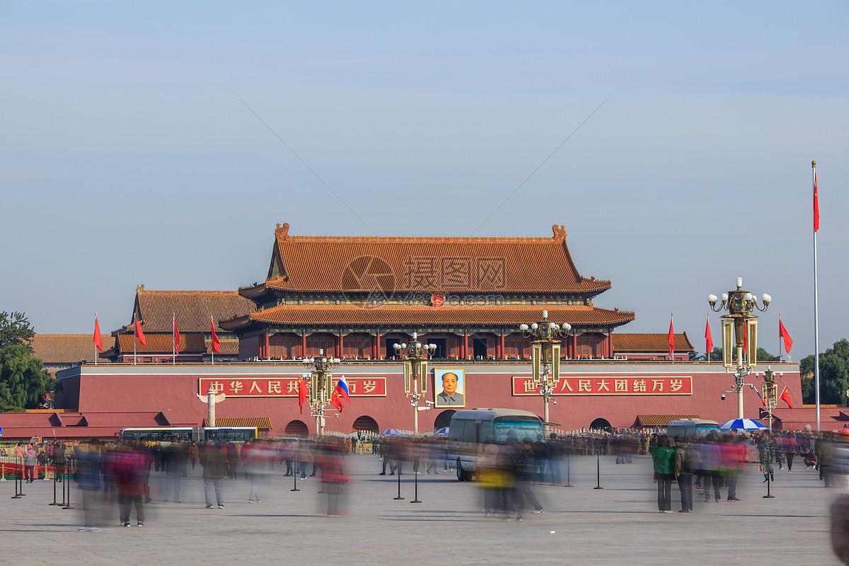 北京的天安门广场