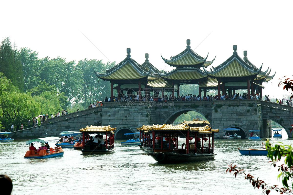 扬州瘦西湖五亭桥