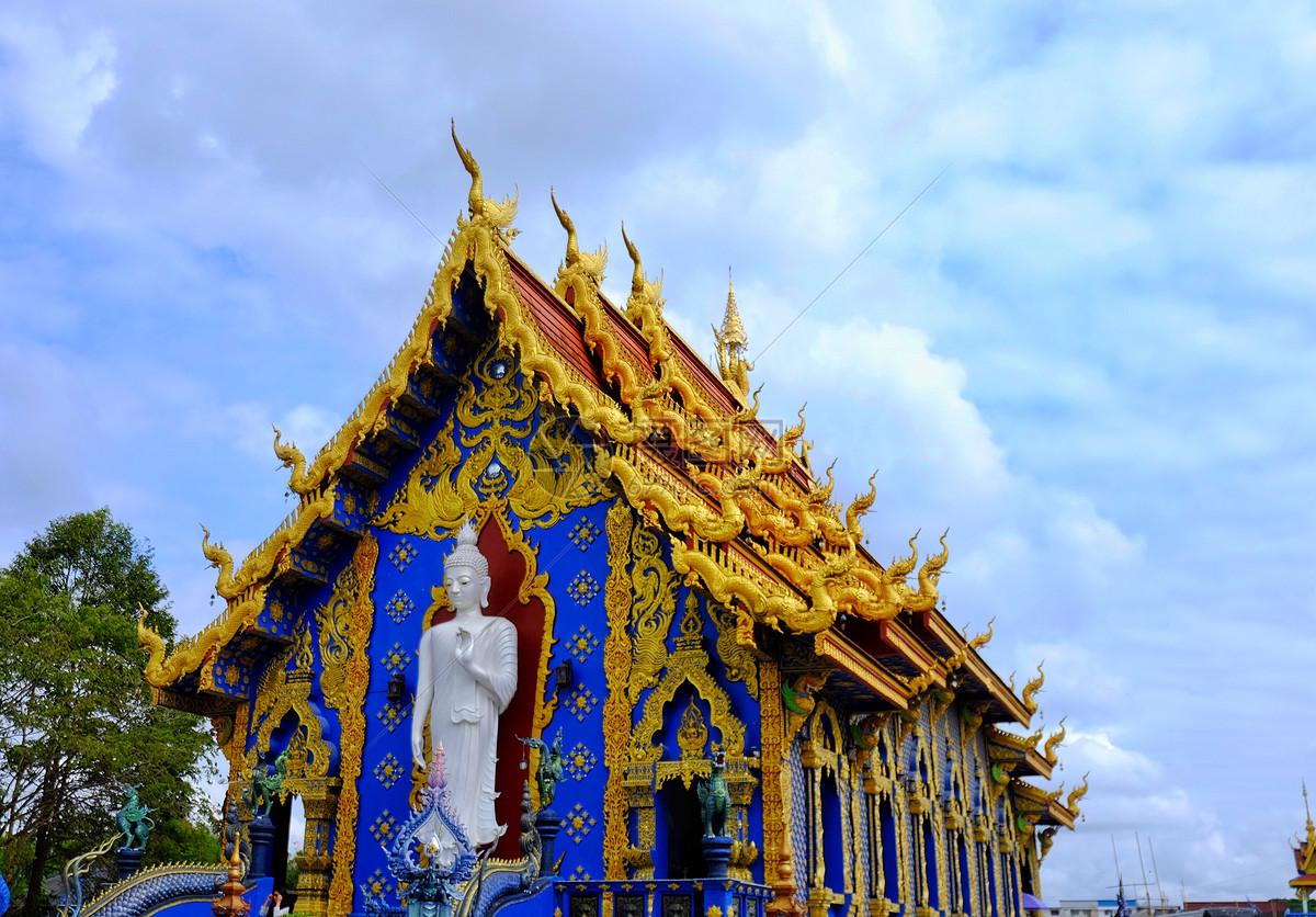 泰国清莱蓝庙图片素材_免费下载_jpg图片格式_vrf高清图片500745898