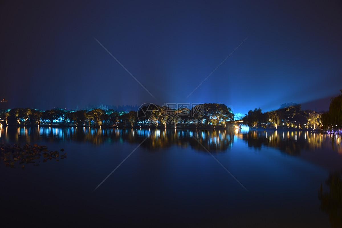 图片 照片 旅游度假 杭州西湖夜景.jpg