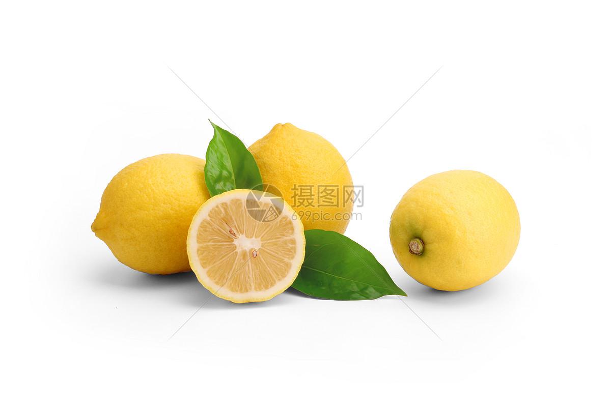 柠檬拍摄白底摄影新鲜水果图片素材_免费下载_jpg图片