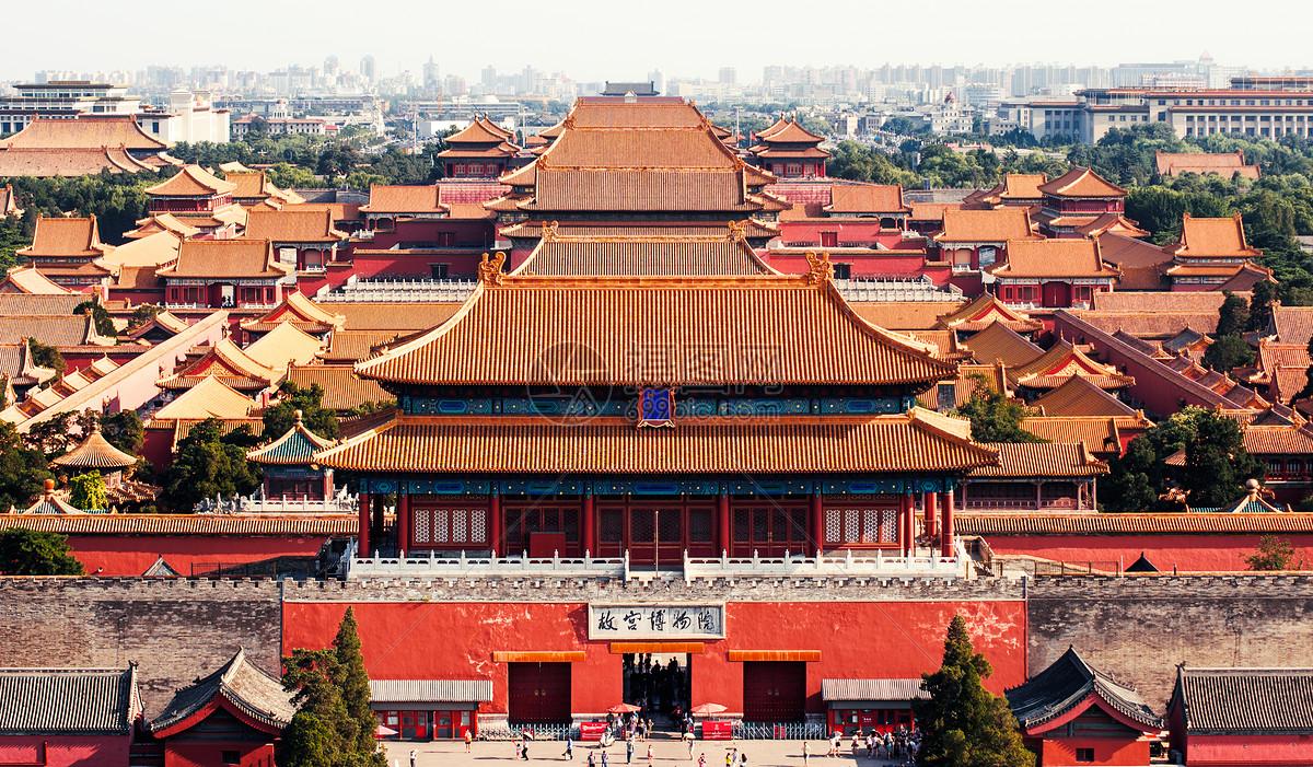 故宫博物院特写图片