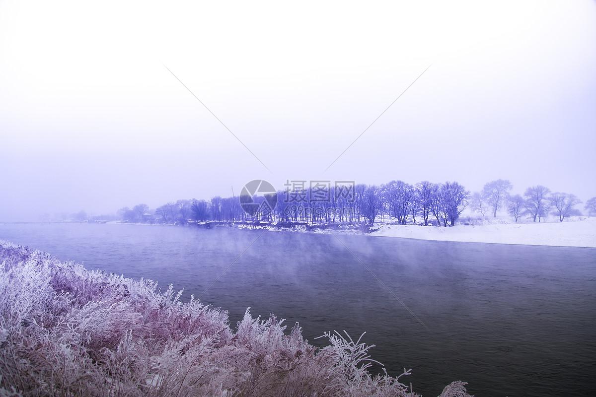图片 照片 自然风景 不结冰的松花江.jpg