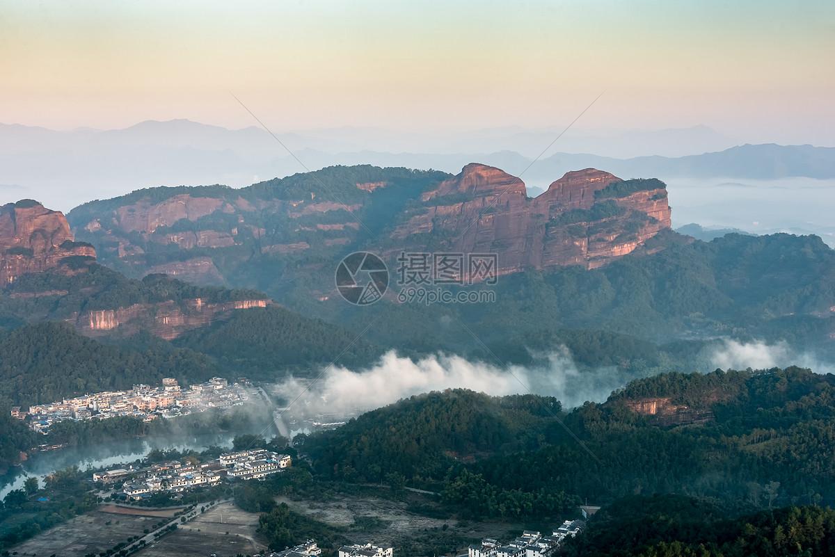 照片 自然风景 丹霞山睡美人jpg