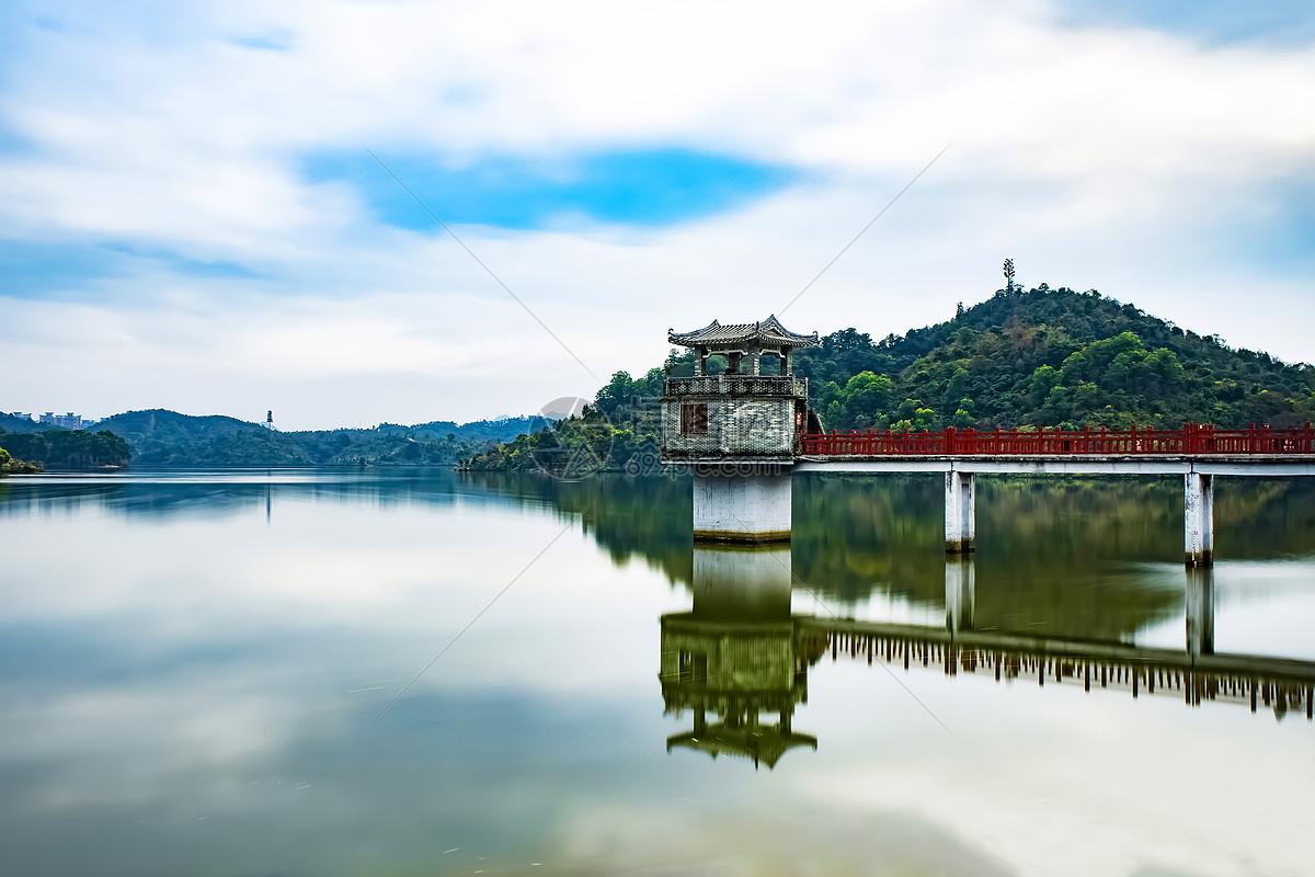 照片 自然风景 广东惠州红花湖jpg