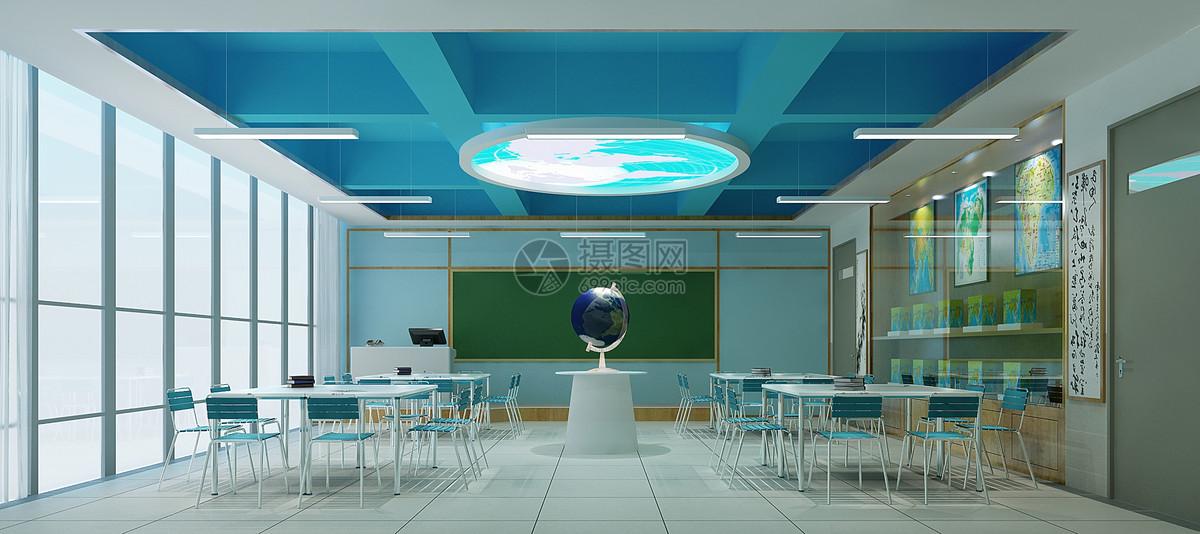 教室室内装修效果图图片