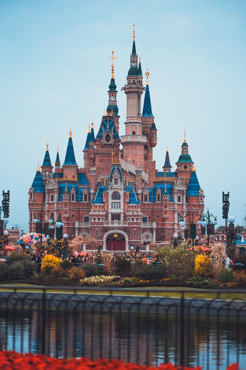 迪士尼城堡图片素材_免费下载_jpg图片格式_vrf高清