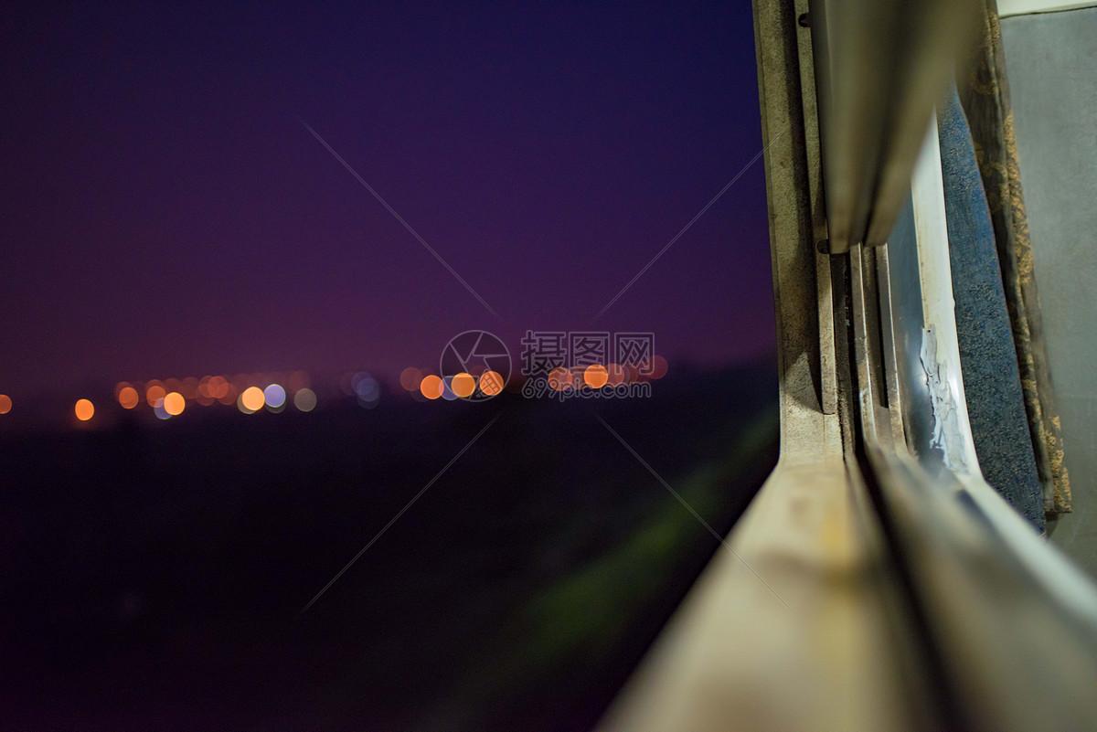 照片 自然风景 火车窗外jpg