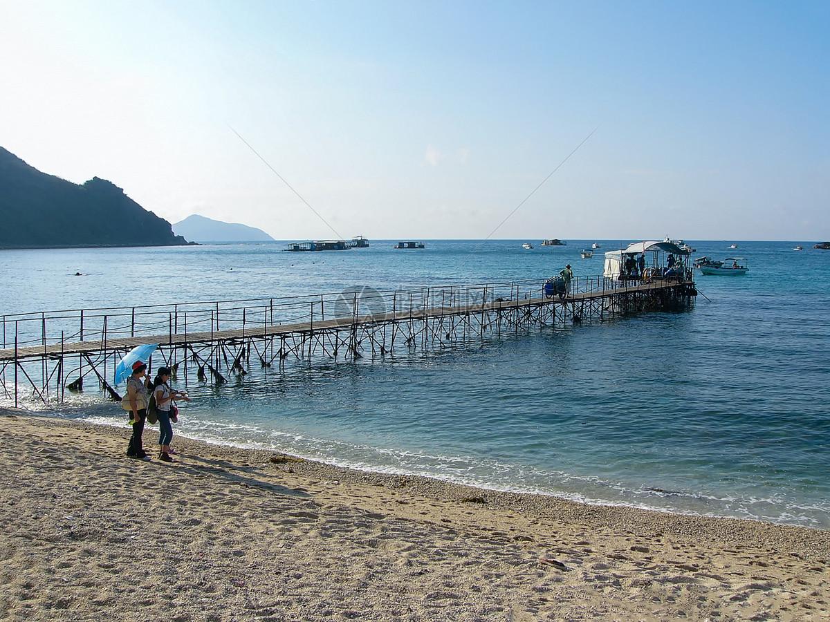 海南三亚海边美景