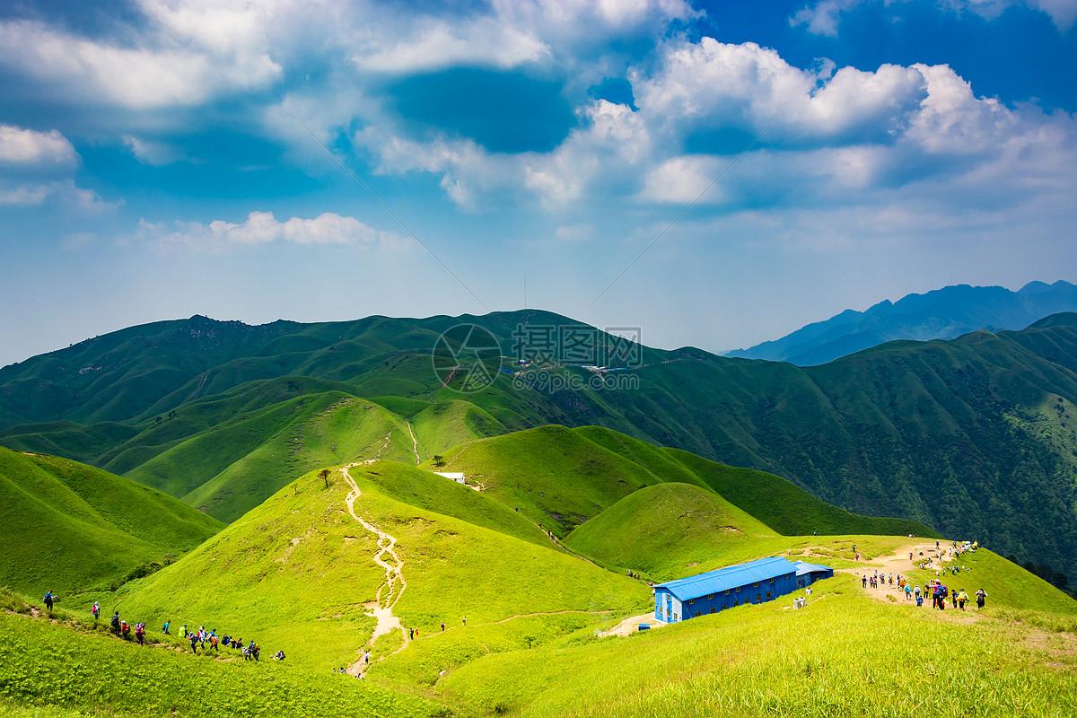 照片 自然风景 江西武功山风光美景jpg