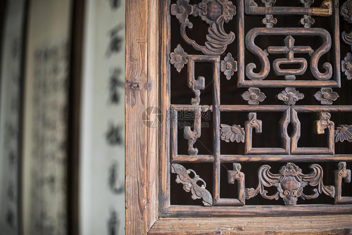 古建筑里的雕花艺术
