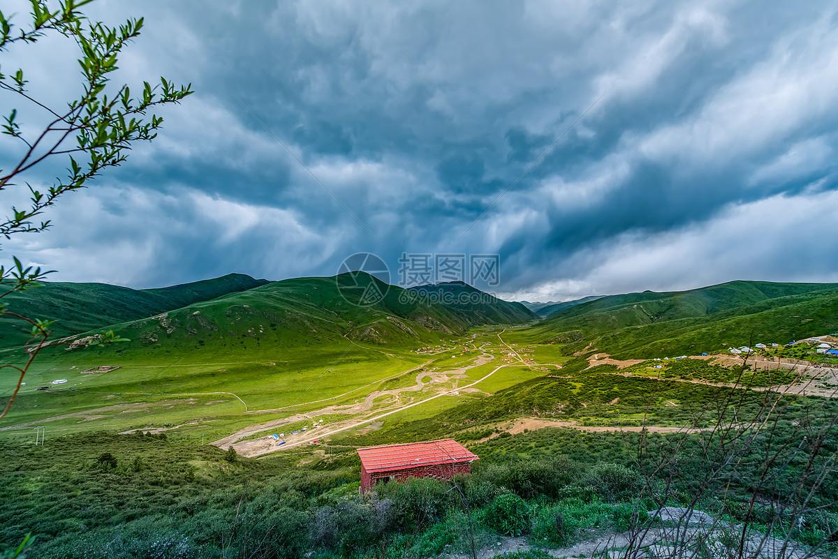 川西高原风景