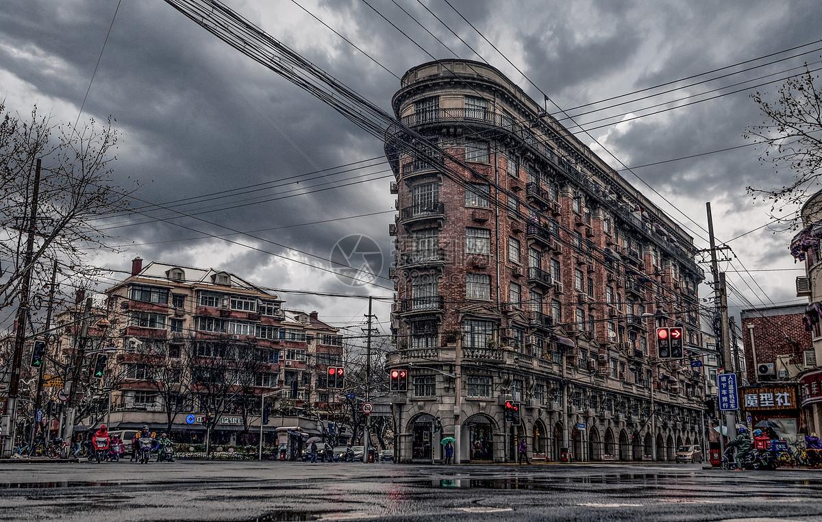 乌云下的武康大楼图片素材_免费下载_jpg图片格式_vrf高清图片