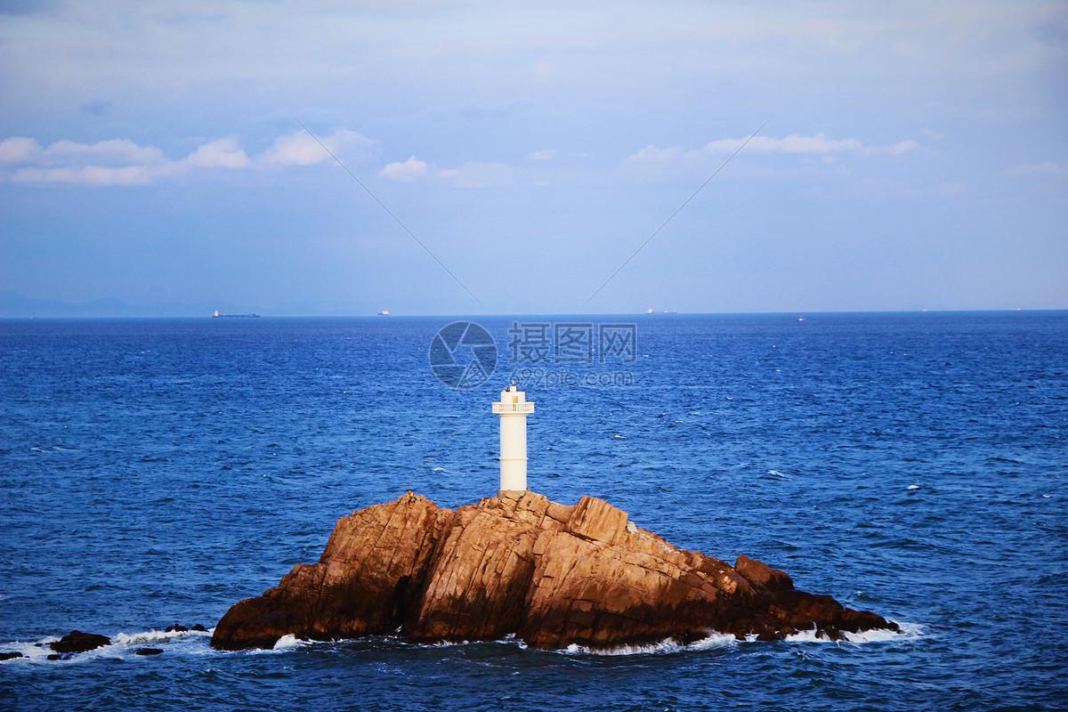 舟山东极岛东福山灯塔