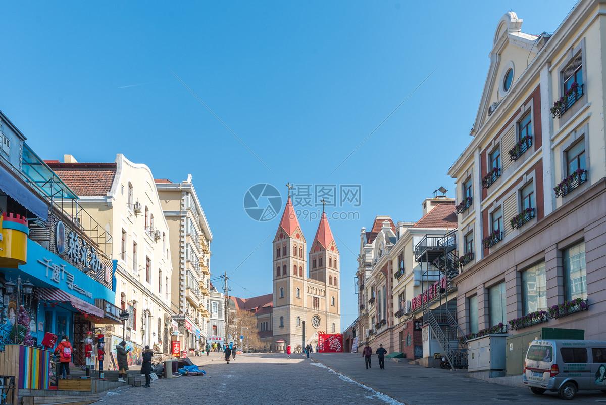 照片 建筑空间 青岛中山路商业街异域风情jpg  分享: qq好友 微信朋友