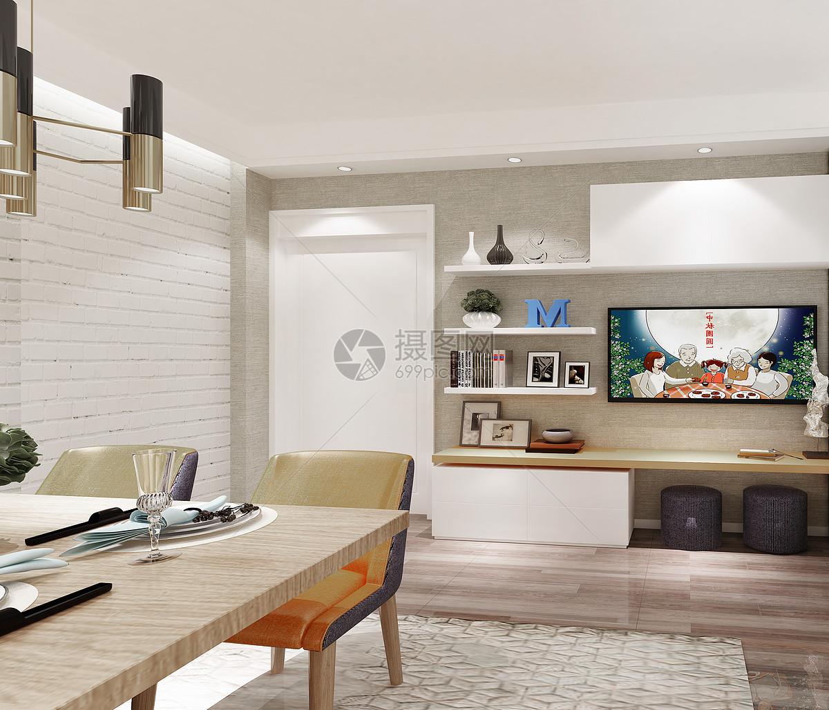 花瓣 举报 标签: 主卧室吊顶复古餐厅室内效果图家装床品组合餐厅欧式