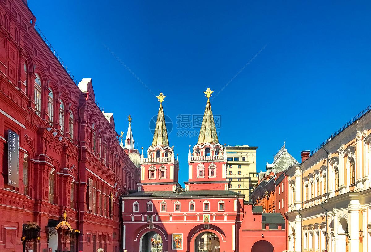 莫斯科红场北入口图片