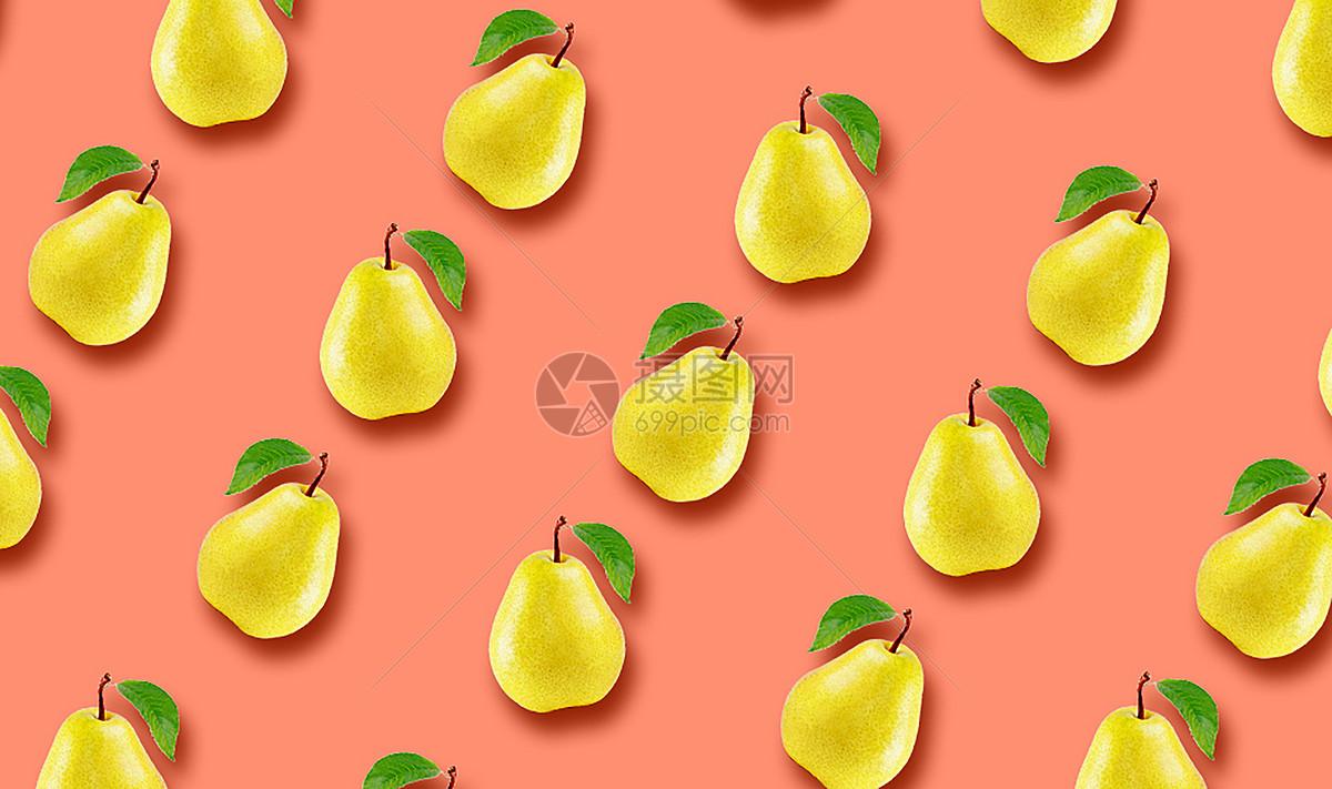 水果平铺背景