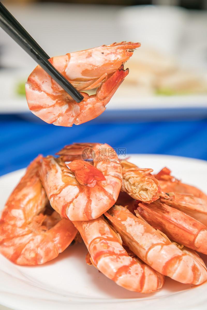 盐焗大虾图片