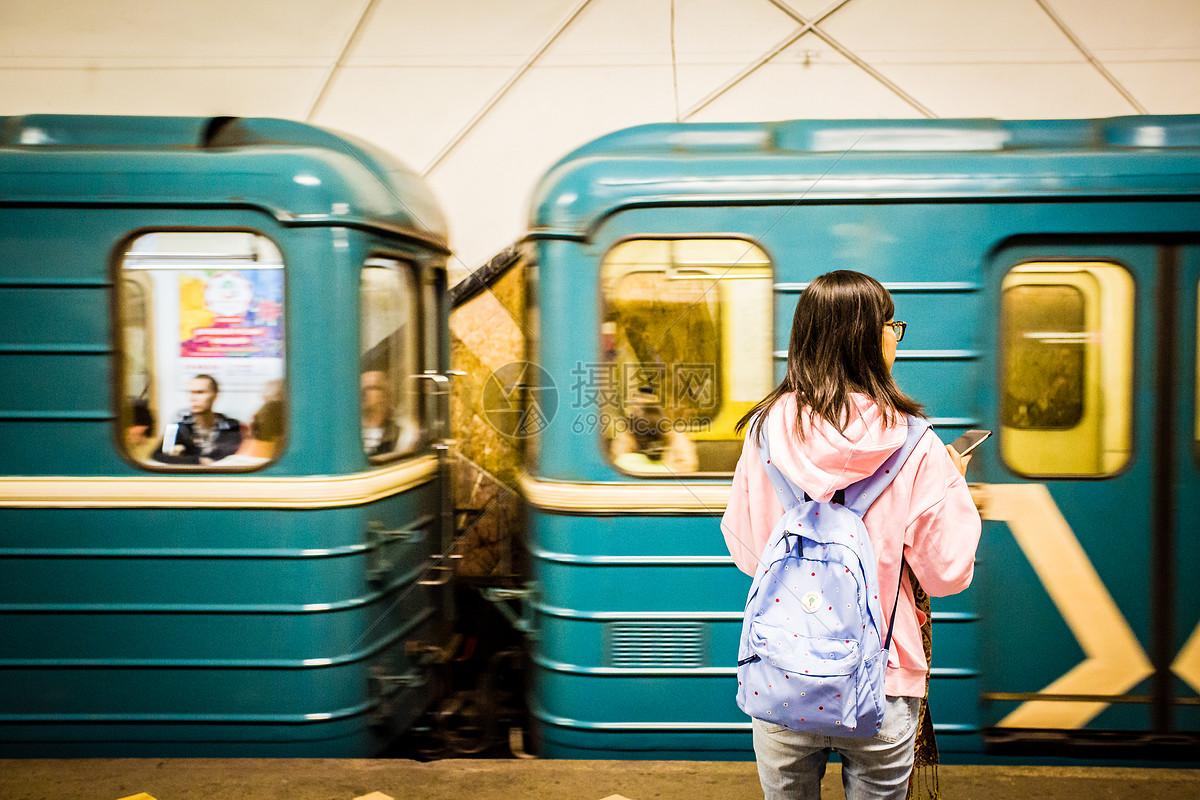 俄罗斯莫斯科等地铁图片