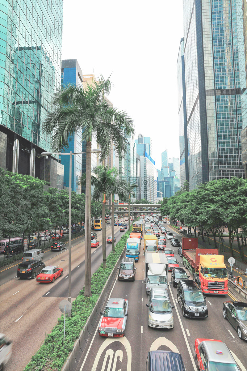 中国香港街景图片