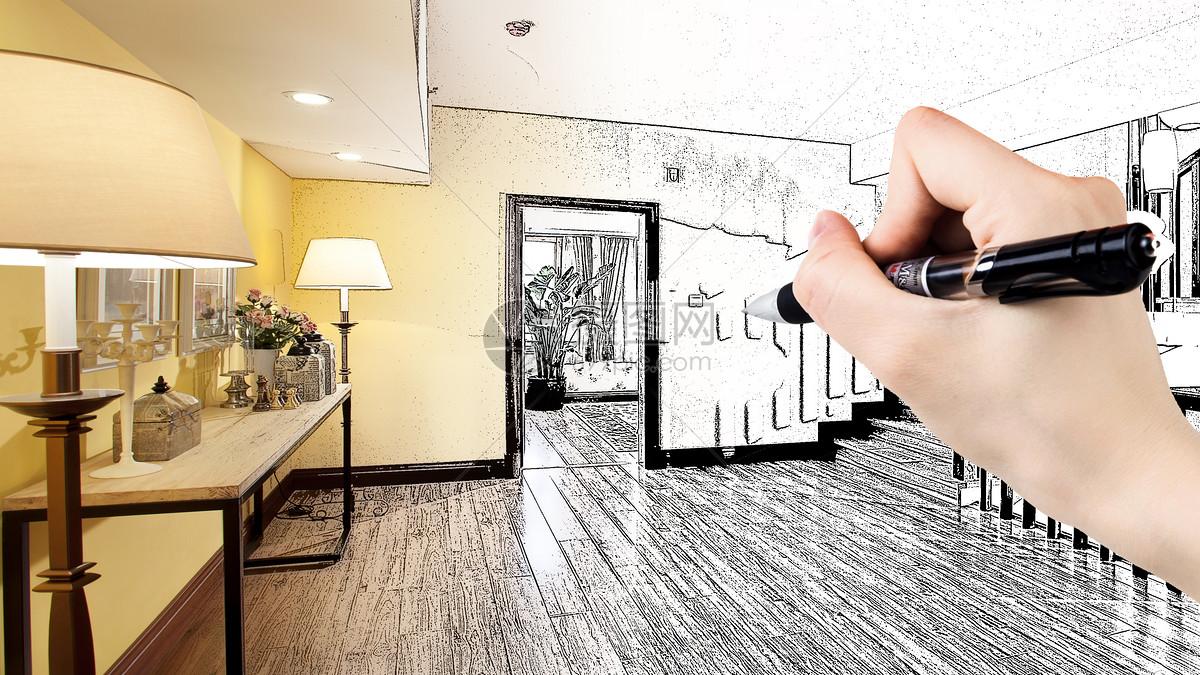 手绘家居效果图图片