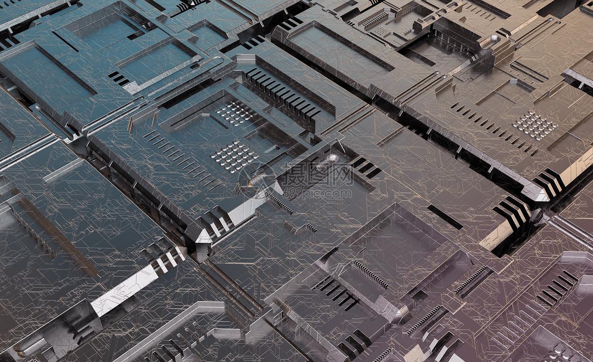 科技科幻背景图片