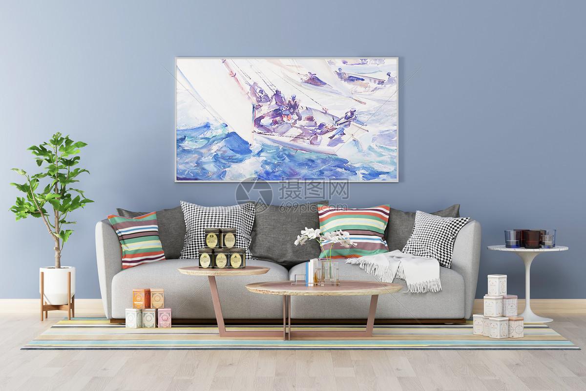 北欧简约室内家具图片