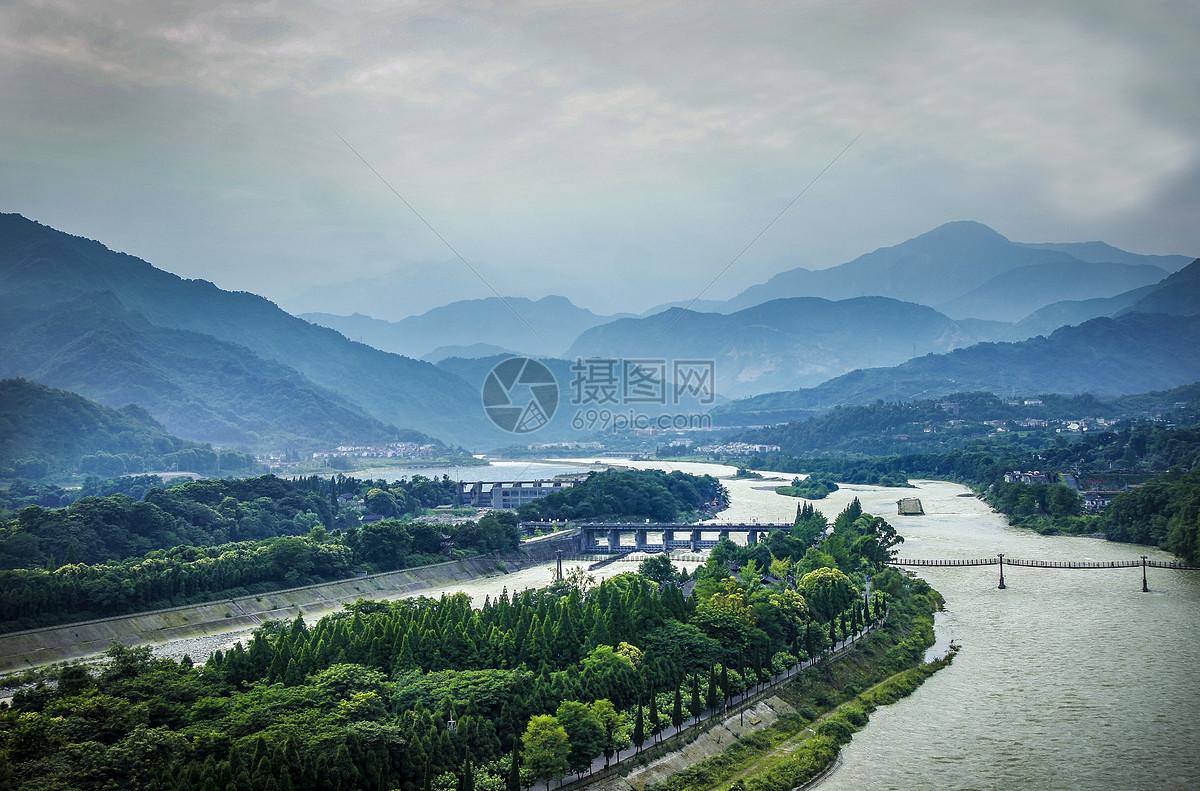四川都江堰青城山图片