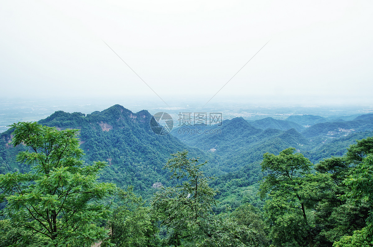 图片 照片 自然风景 四川都江堰青城山.jpg