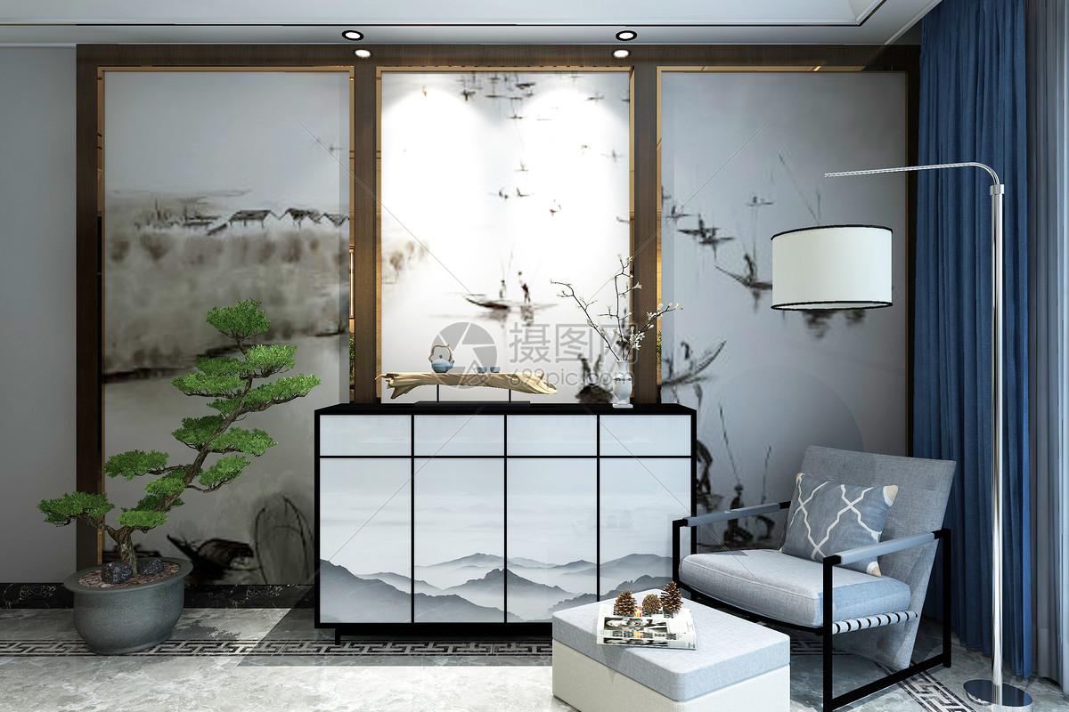 中式空间设计图片
