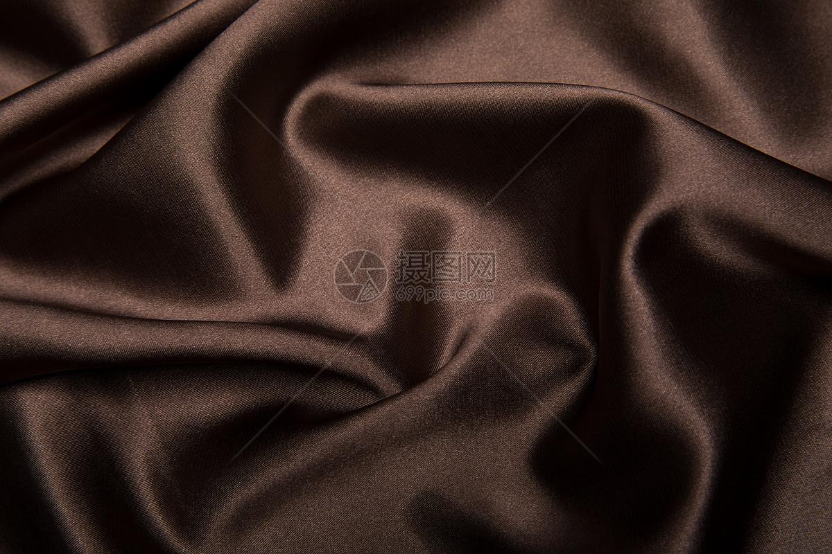 图片 照片 背景素材 咖啡色丝绸.jpg