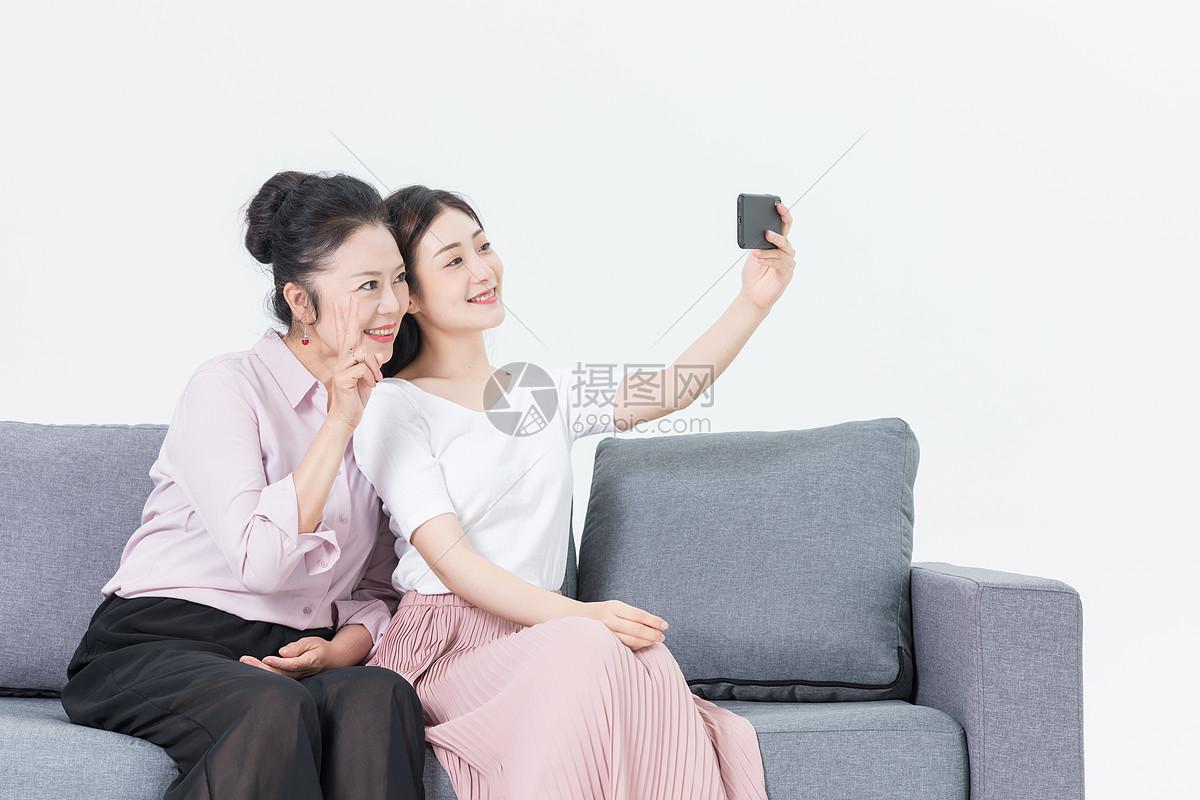 母女自拍图片