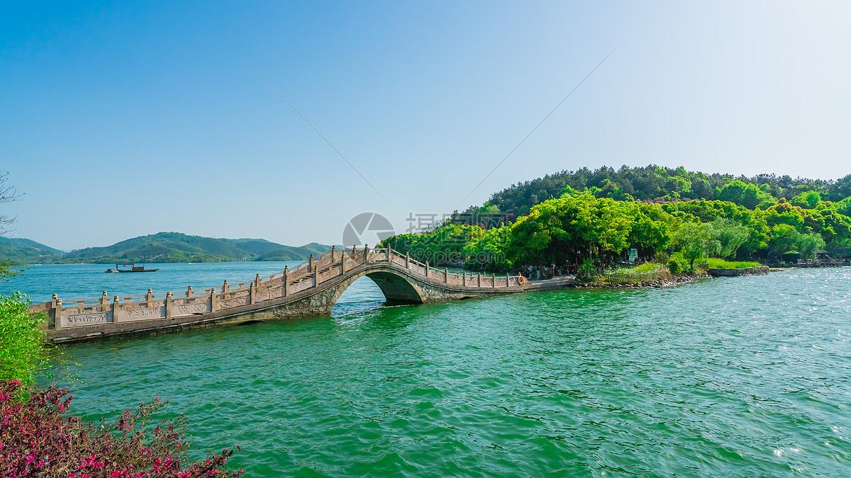 江苏溧阳天目湖景区风光图片