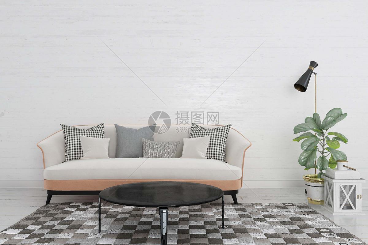 沙发茶几组合图片