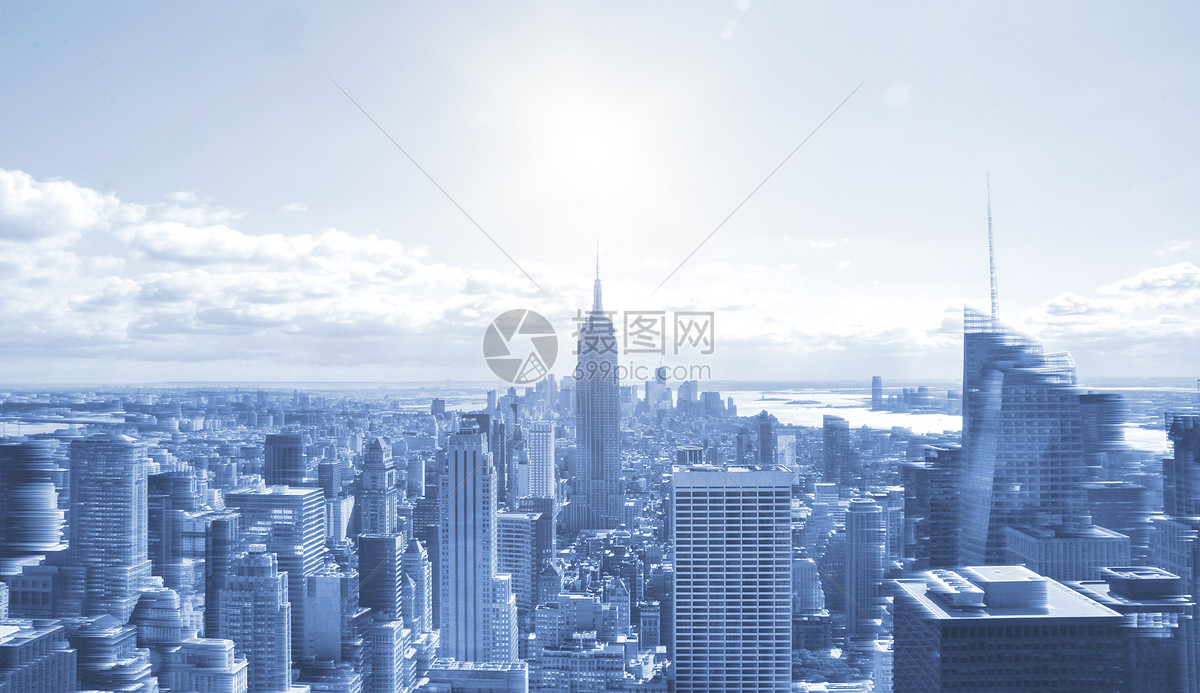 冰冻城市图片