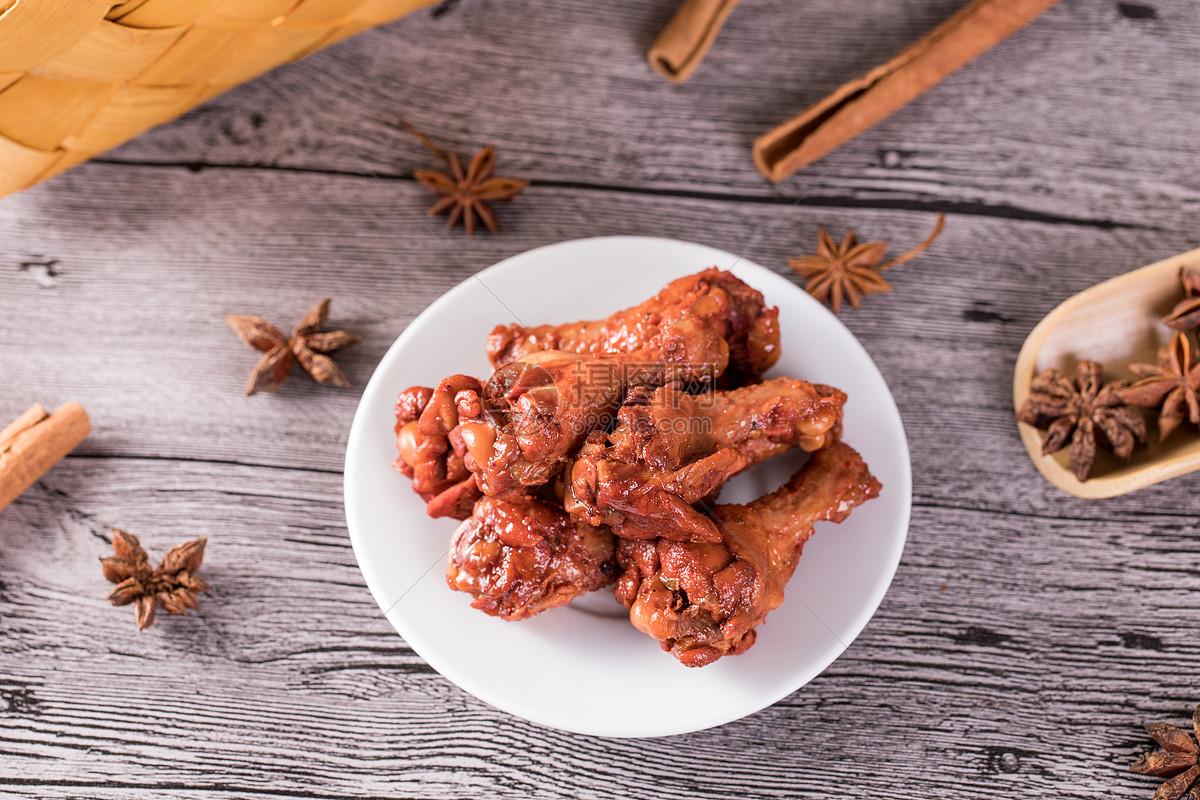 鸭肉类食品腿鸭图片