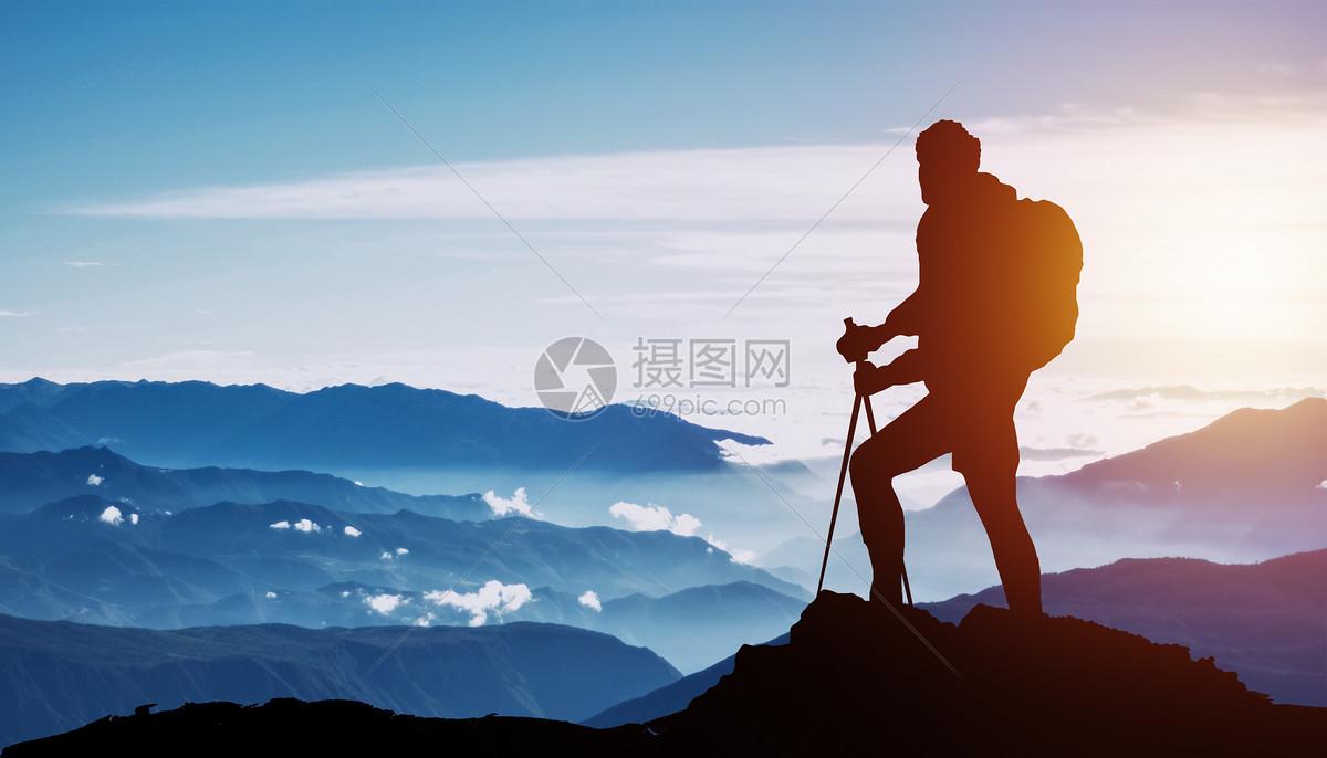 微博不能上传图片_登山者图片素材_免费下载_jpg图片格式_VRF高清图片501032664_摄图网