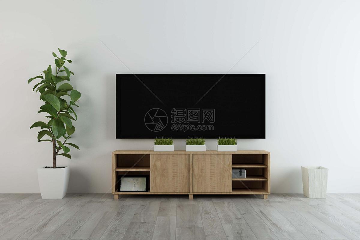 简约电视背景墙图片