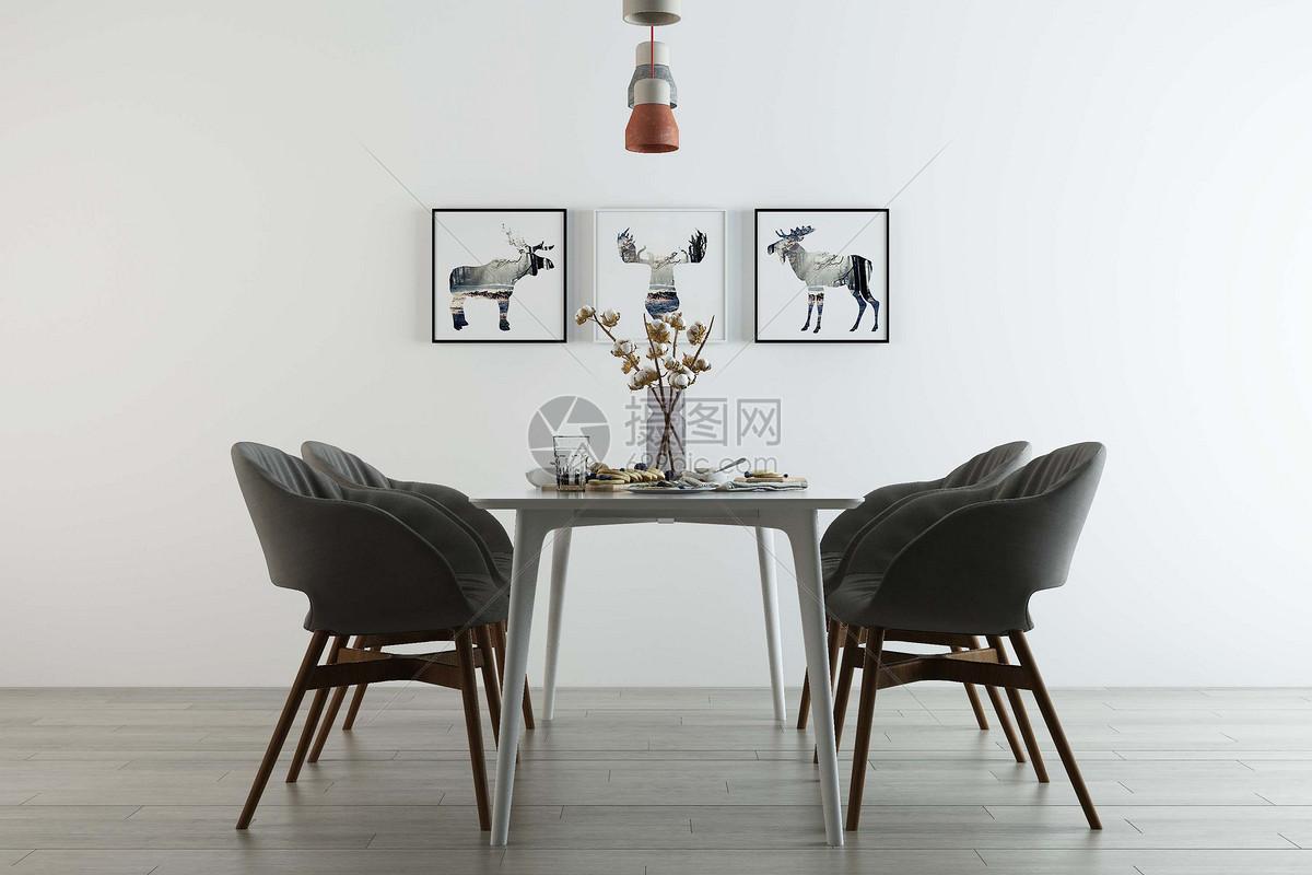 饭厅设计图片
