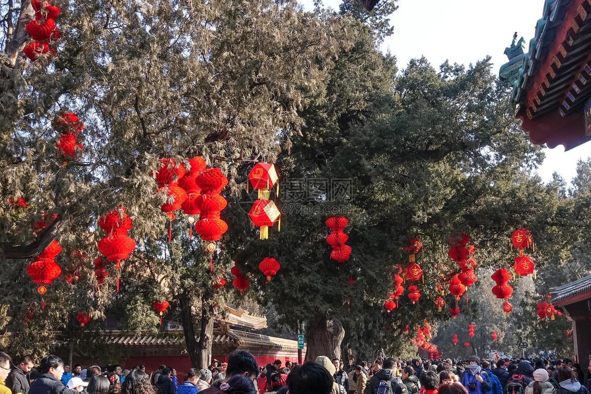 北京地坛庙会图片