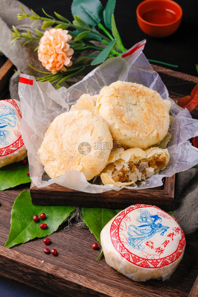 传统苏式月饼图片
