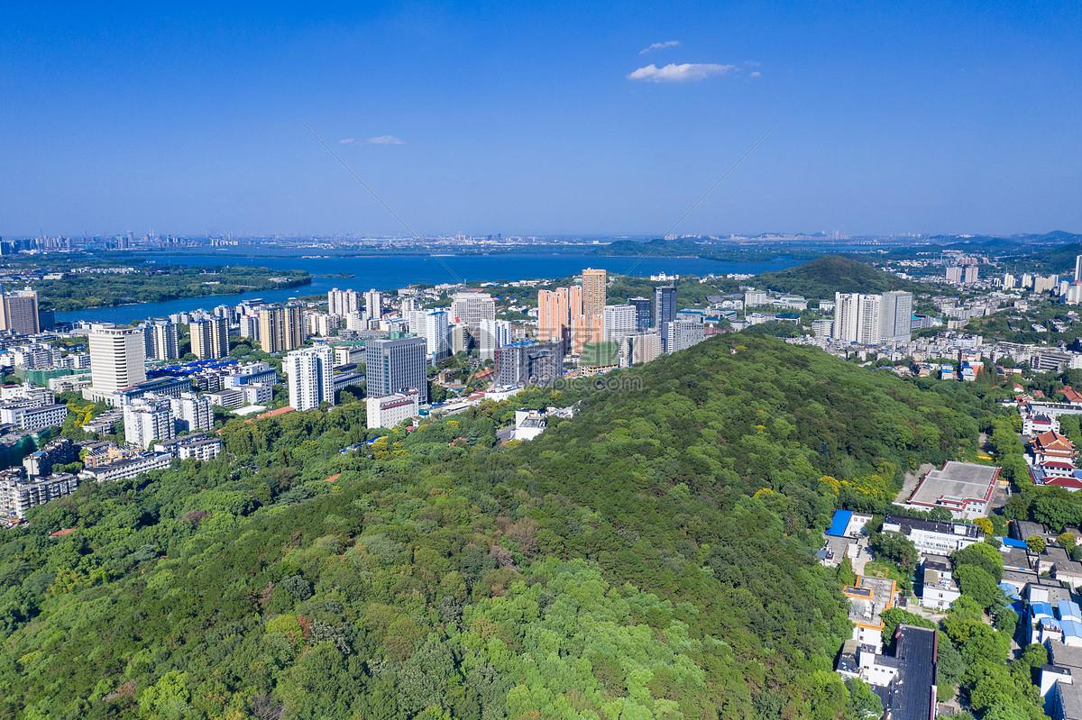 江城湖光山色图片