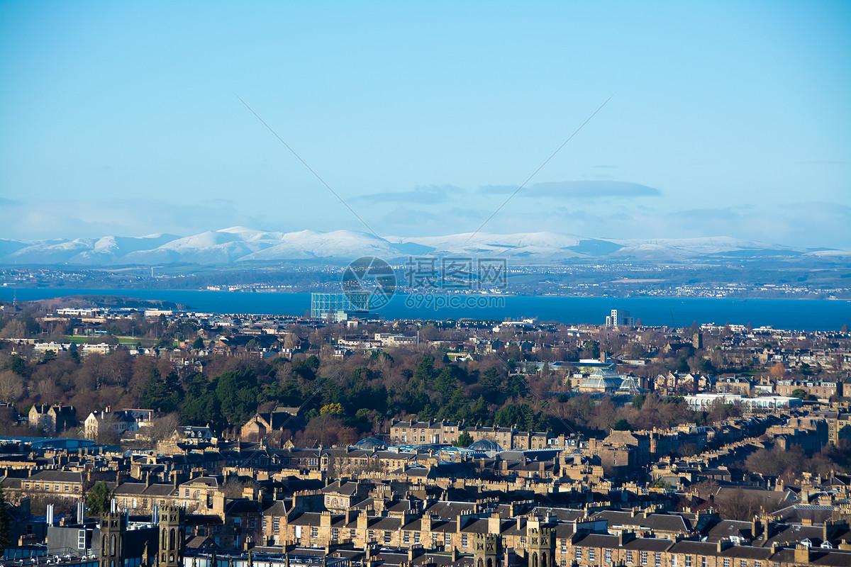 英国城市街景图片